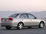 Pictures of Honda Civic Sedan US-spec 2003–06