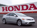 Pictures of Honda Civic Si Coupe 2006–08