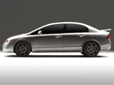 Pictures of Honda Civic Si Sedan Concept 2006