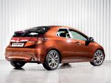 Pictures of Honda Civic Hatchback (FN) 2010–11