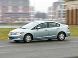 Pictures of Honda Civic Hybrid US-spec 2011–12