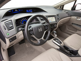 Pictures of Honda Civic Sedan US-spec 2011