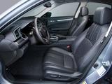Pictures of Honda Civic Sedan Touring US-spec 2015