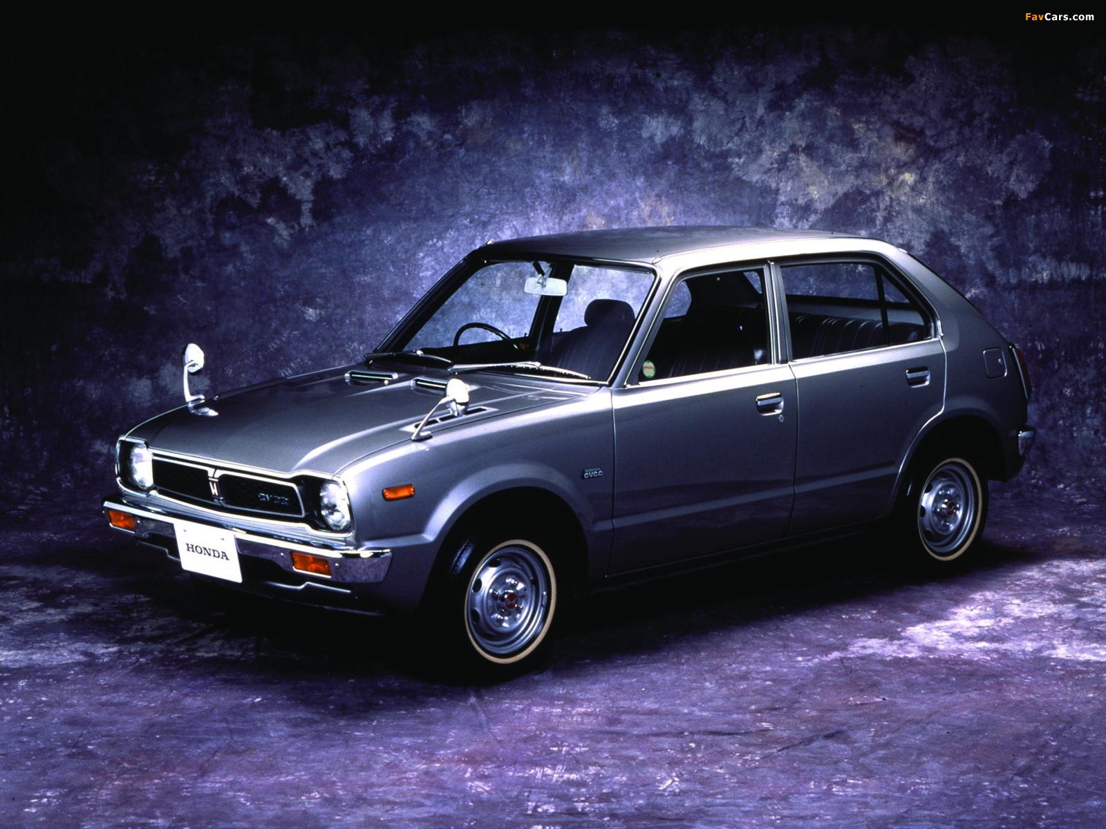 Honda Civic 4-door 1976–78 wallpapers