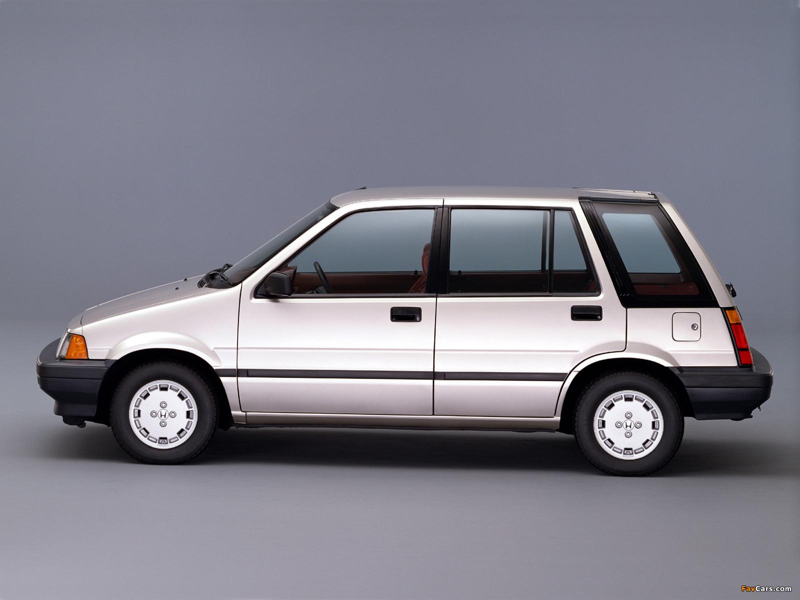 Honda Civic Shuttle 1983–87 wallpapers (1600 x 1200)