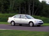 Wallpapers of Honda Civic Sedan (EK) 1995–2001