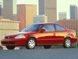 Honda Civic Coupe (EJ7) 1996–2000 wallpapers