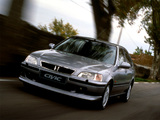Honda Civic Fastback 1997–2001 wallpapers