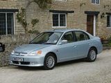 Honda Civic Sedan UK-spec 2001–03 wallpapers