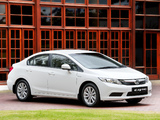 Honda Civic Sedan ZA-spec 2012 wallpapers