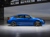 Honda Civic Sedan RS AU-spec 2016 wallpapers