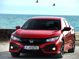 Honda Civic Hatchback (FK) 2017 wallpapers