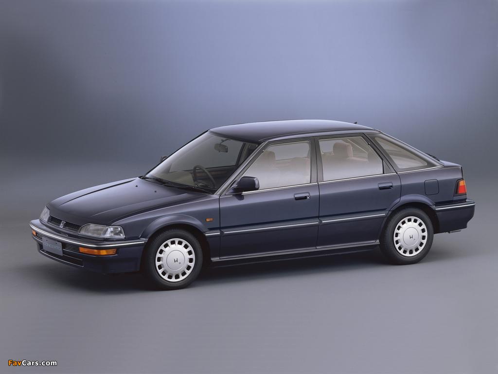 Honda Concerto JX-i 5-door (MA) 1988–92 pictures (1024 x 768)