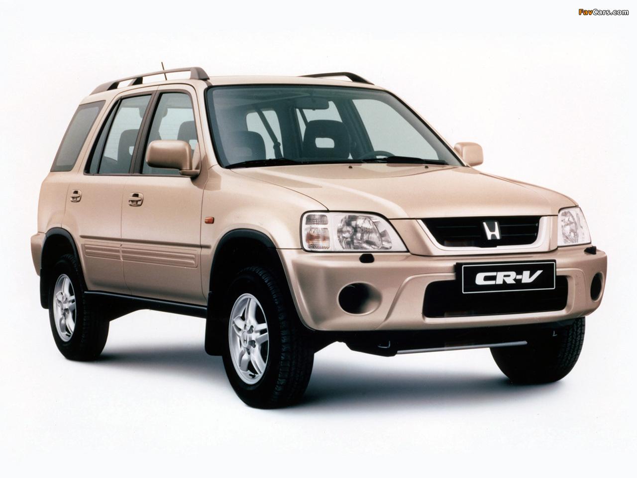 Honda cr v rd1 1999 2001 photos 1280x960 for 1999 honda accord tire size