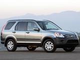 Honda CR-V US-spec (RD5) 2001–07 pictures