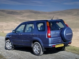 Honda CR-V UK-spec (RD5) 2001–07 wallpapers