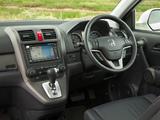 Honda CR-V UK-spec (RE) 2009–12 photos
