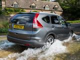 Honda CR-V UK-spec (RM) 2012 images