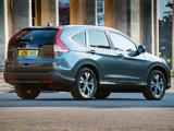Honda CR-V UK-spec (RM) 2012 wallpapers