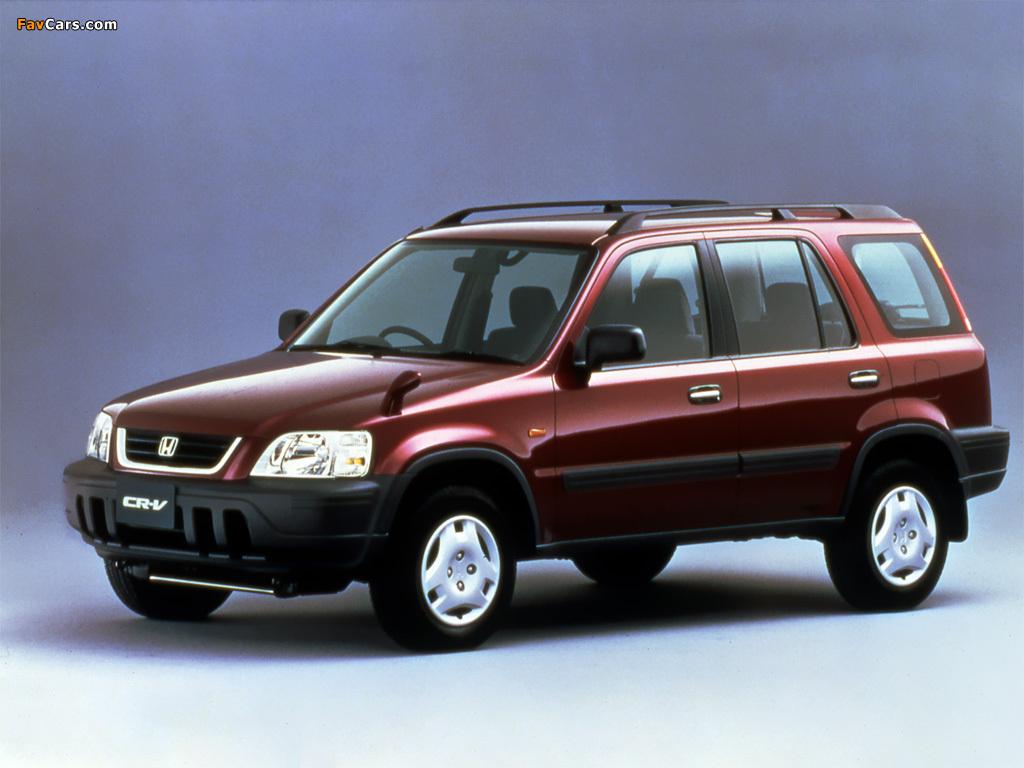 Honda Crv 1995 >> Photos of Honda CR-V JP-spec (RD1) 1995–99 (1024x768)