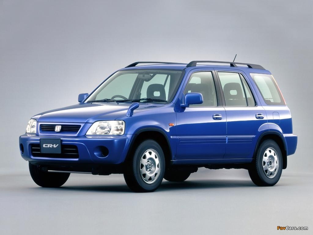 Photos of Honda CR-V JP-spec (RD1) 1999-2001 (1024x768)