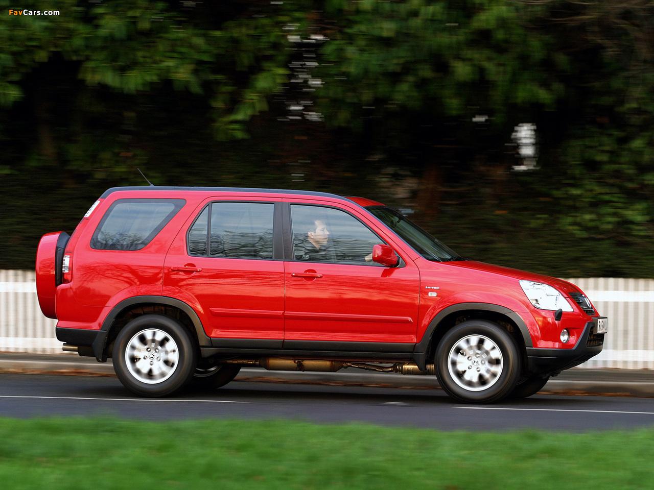 Photos Of Honda Cr V Uk Spec Rd5 2001 07 1280x960