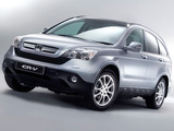 Photos of Honda CR-V UK-spec (RE) 2006–09