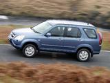 Pictures of Honda CR-V UK-spec (RD5) 2001–07