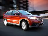Pictures of Honda CR-V UK-spec (RM) 2012