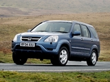 Honda CR-V UK-spec (RD5) 2001–07 wallpapers