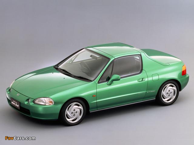 Honda CR-X del Sol SiR (EG2) 1992–98 pictures (640x480)