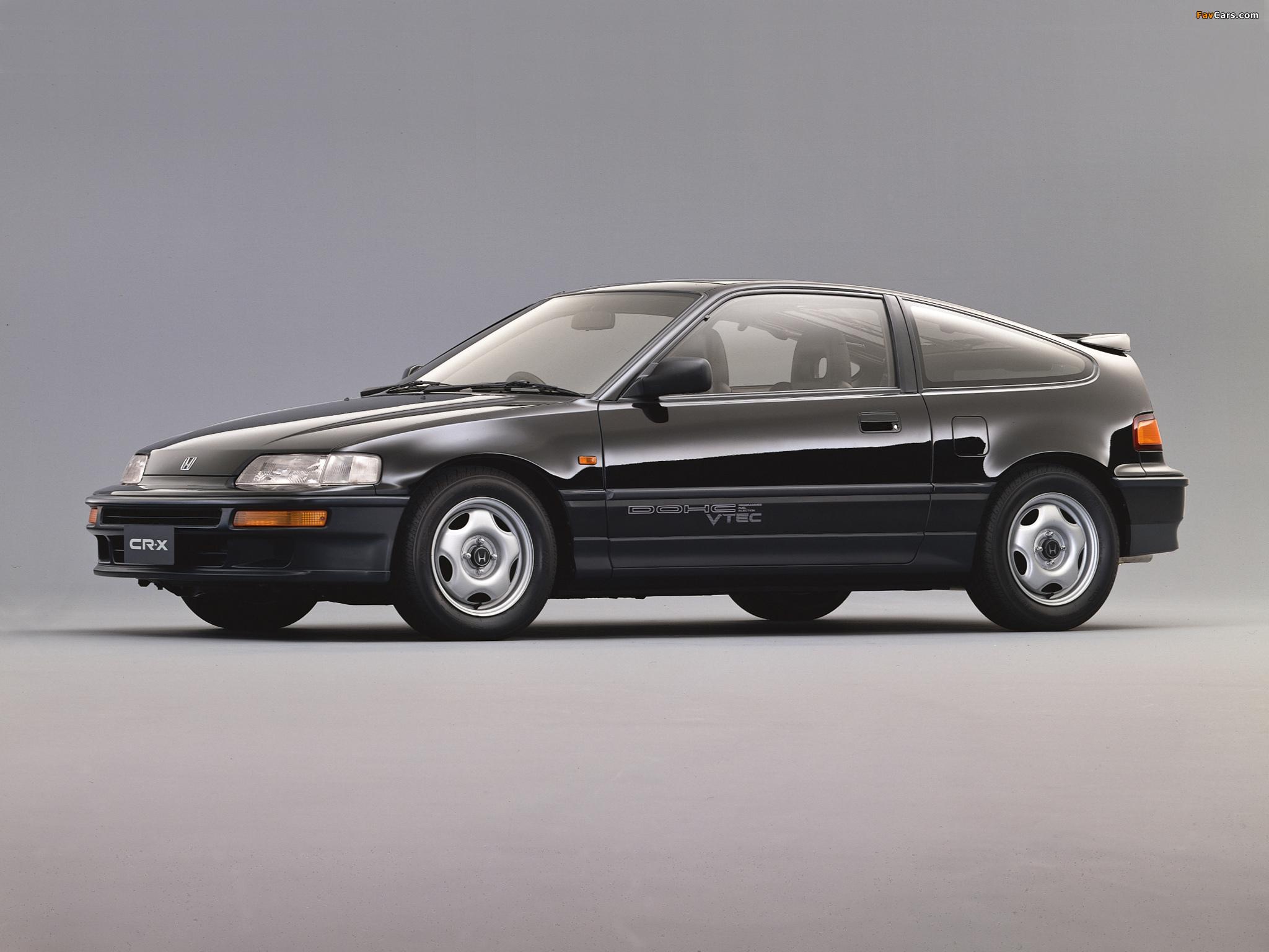 Honda Cr X >> Images of Honda CR-X SiR (EF8) 1989–91 (2048x1536)