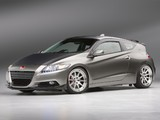 Honda CR-Z by Fortune Motorsports Samurai Gold (ZF1) 2010 wallpapers