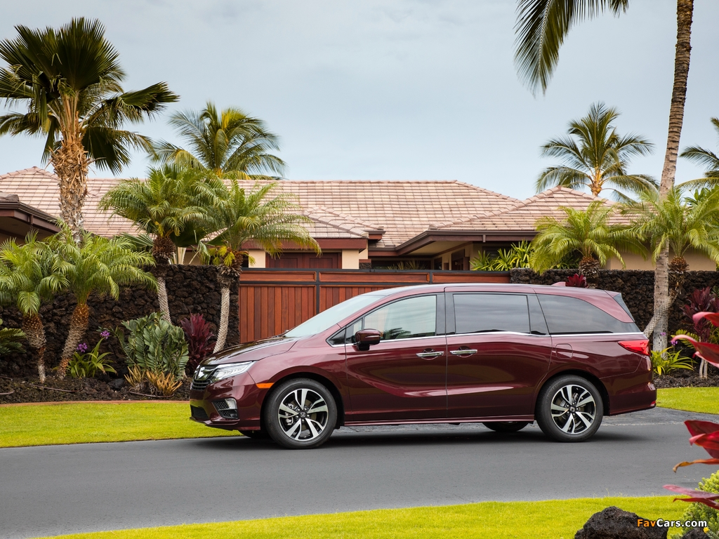 Honda Odyssey 2017 pictures (1024 x 768)