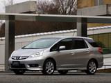 Honda Fit Shuttle (GG) 2011 photos