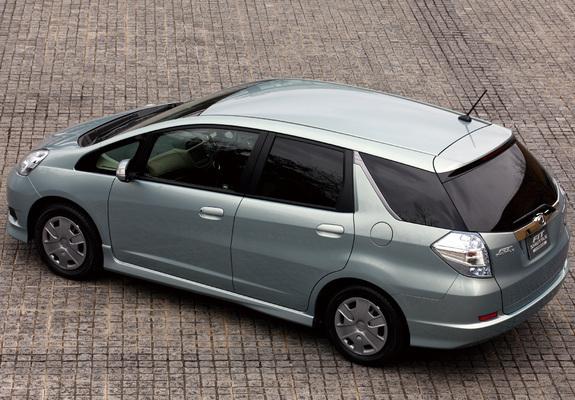 Photos Of Honda Fit Shuttle Hybrid Gp2 2011
