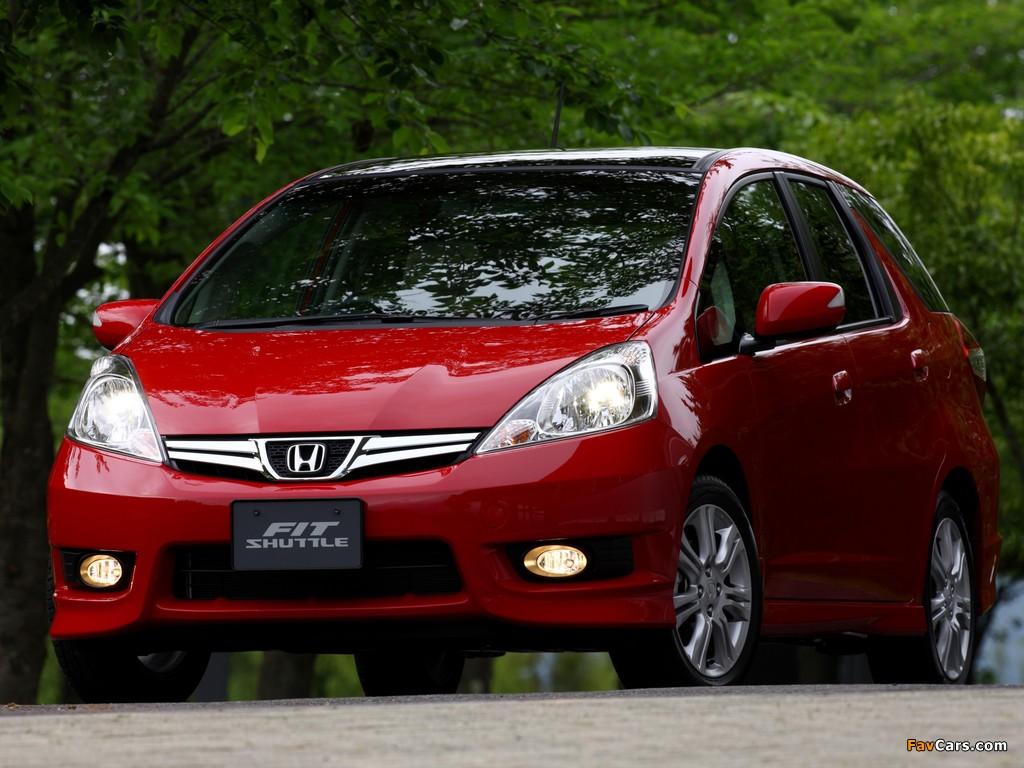 Honda Fit Shuttle Gg 2011 Wallpapers 1024x768