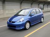 Honda Fit Sport US-spec (GD) 2006–08 images