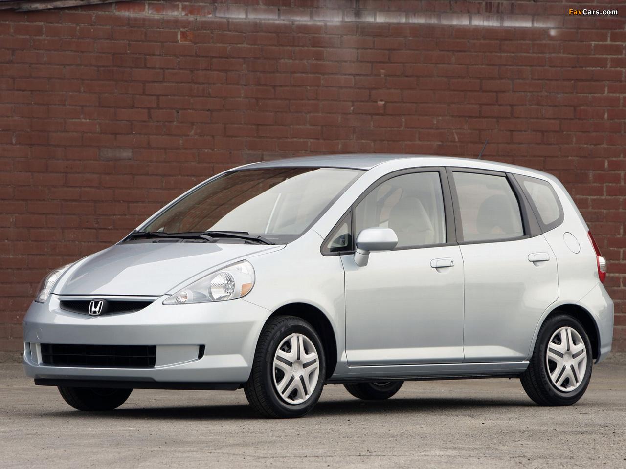 Honda Fit US-spec (GD) 2006-08 images (1280x960)