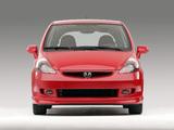 Honda Fit Sport US-spec (GD) 2006–08 pictures
