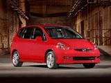 Honda Fit Sport US-spec (GD) 2006–08 wallpapers