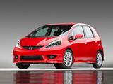 Honda Fit Sport US-spec (GE) 2008–11 pictures