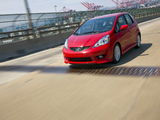 Honda Fit Sport US-spec (GE) 2008–11 wallpapers