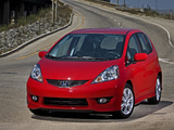 Honda Fit Sport US-spec (GE) 2008–11 wallpapers