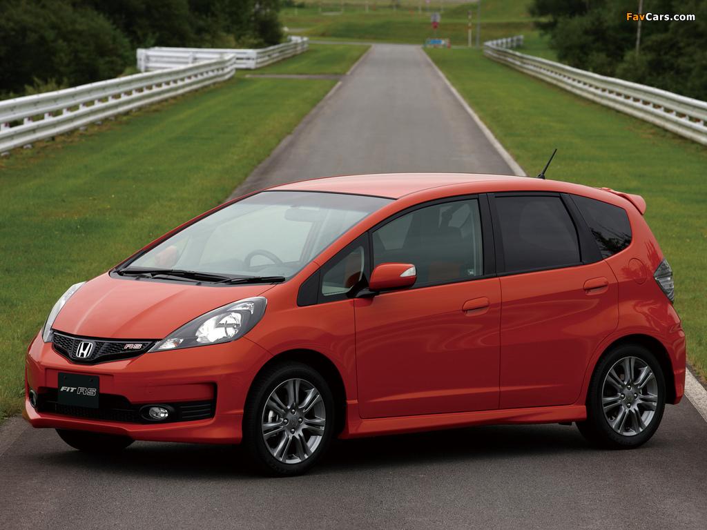 Honda Fit Rs Ge 2009 Images 1024x768