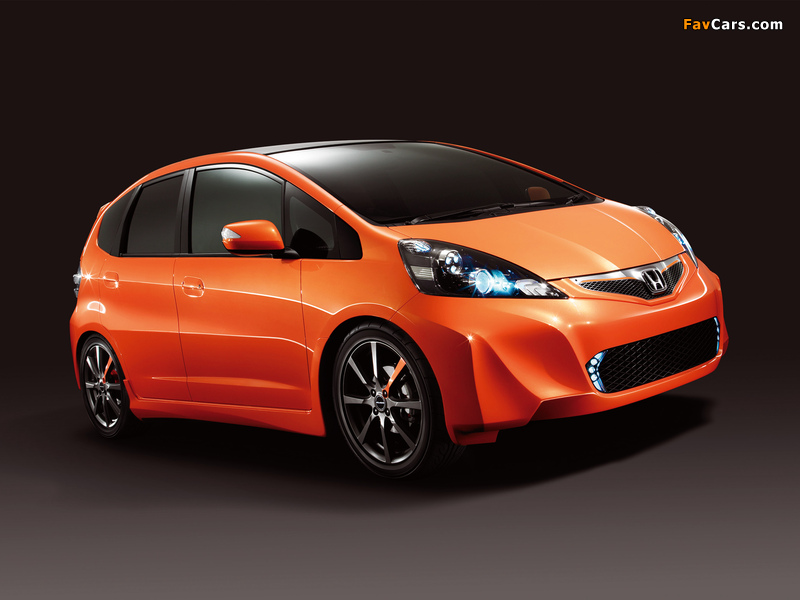 Modulo Sports Honda Fit RS Concept (GE) 2009 images (800 x 600)