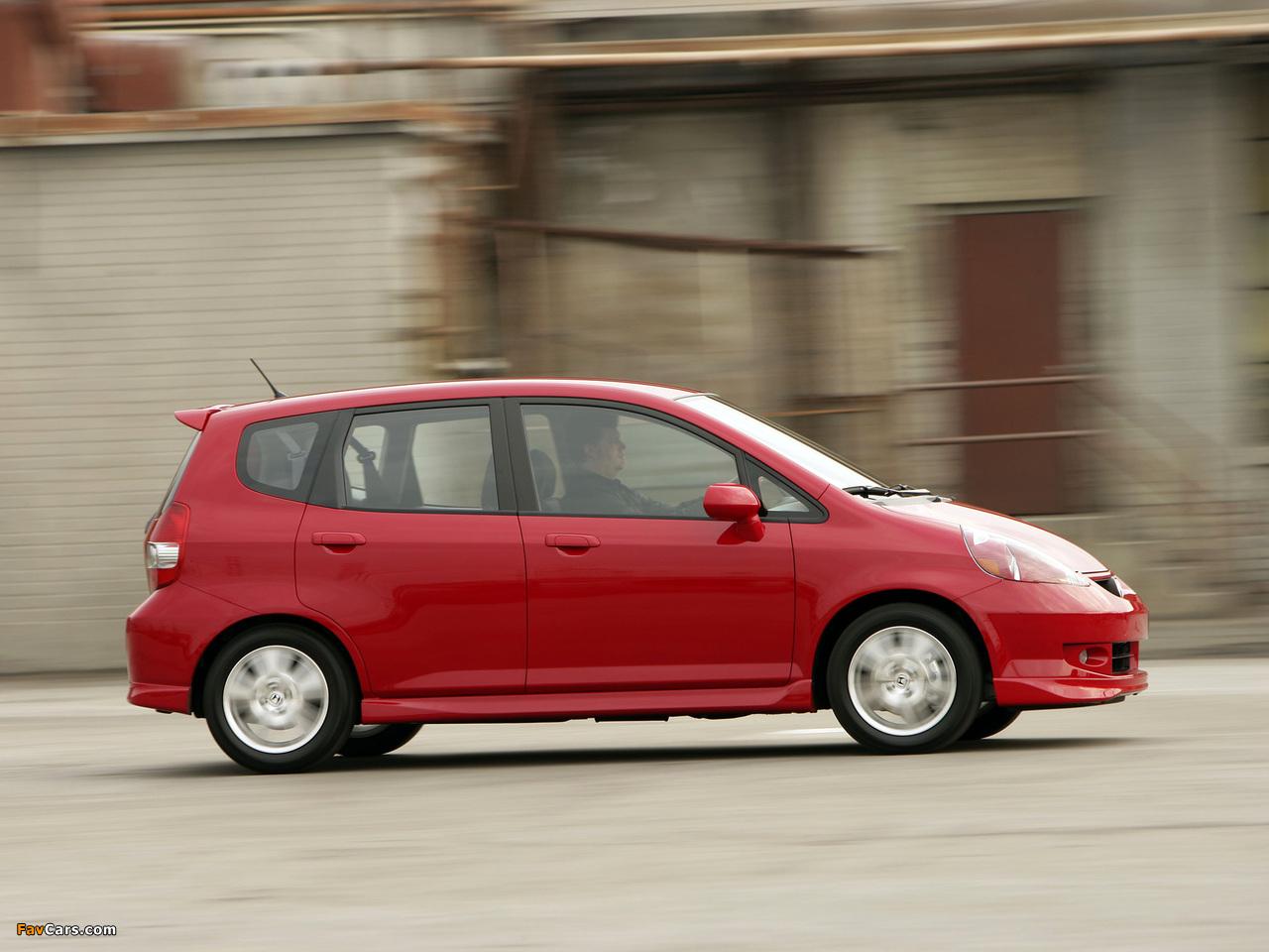 Images Of Honda Fit Sport Us Spec Gd 2006 08 1280x960