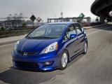 Images of Honda Fit Sport US-spec (GE) 2008–11