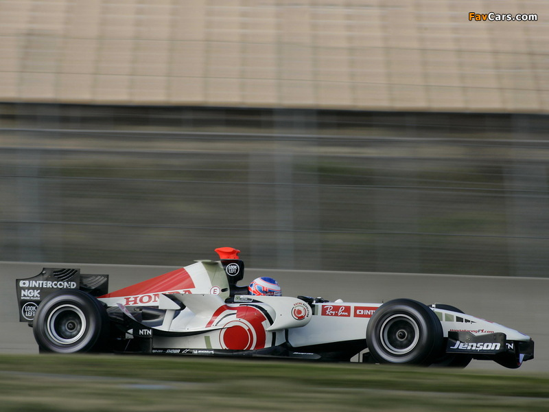 Honda RA106 2006 wallpapers (800 x 600)