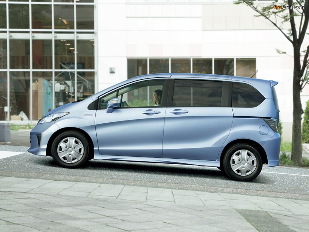 Honda Freed Hybrid (GP3) 2011 images (1024x768)